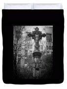 Crucifix Duvet Cover