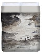 Crucifixtion Duvet Cover