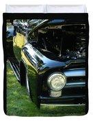 Cruise-in Car Show II Duvet Cover