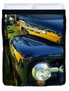 Cruise-in Car Show Vi Duvet Cover