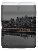 Cruising Along The Thamas River Duvet Cover