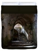 Crypt Of The Martyr San Marciano In Syracuse Duvet Cover