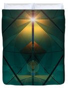 Crystal Cathedral Duvet Cover