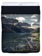 Crystal Clear Mountain Lake Duvet Cover