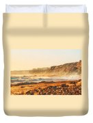 Crystal Cove At Sunset 1 Duvet Cover