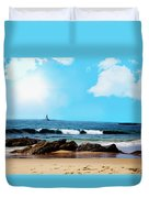 Crystal Cove Duvet Cover