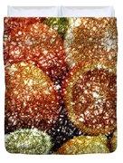 Crystal Grapefruit Duvet Cover