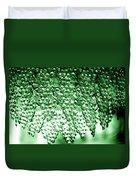 Crystal Green Duvet Cover