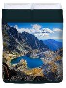 Crystal Lake Duvet Cover by Inge Johnsson