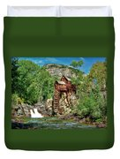 Crystal Mill Crystal Colorado Duvet Cover