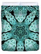 Crystal Perspective Duvet Cover