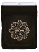Crystal Snowflake Duvet Cover