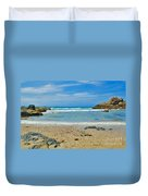 Crystal Waters - Port Macquarie Beach Duvet Cover