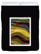 Crystal Waves Abstract 2 Duvet Cover