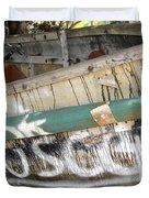 Cuban Refugees Boat 2 Duvet Cover
