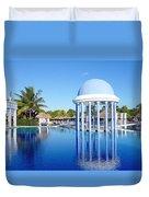 Cuban Resort Duvet Cover