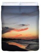 Cuban Sunset Duvet Cover