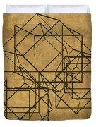 Cubed II Duvet Cover