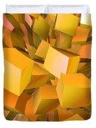 Cubist Melon Burst By Jammer Duvet Cover