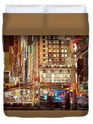 Grand Central And 42nd St Duvet Cover