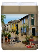 Cucuron In Provence Duvet Cover