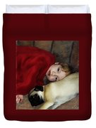 Cuddle Time Duvet Cover