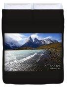 Cuernos Del Paine Patagonia 3 Duvet Cover