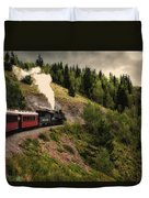 Cumbres And Toltec Train Co And Hm Duvet Cover