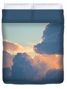 Cumulonimbus Duvet Cover