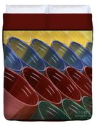 Cups7 Duvet Cover