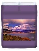 Curecanti Autumn Blue Mesa Colorado Duvet Cover