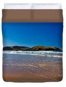 Curio Bay On South Coast Of New Zealand South Island Duvet Cover