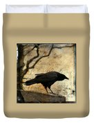 Curious Crow Duvet Cover