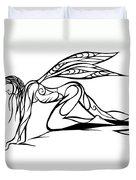 Curious Fairy 1 Duvet Cover