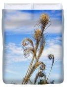 Curled Grasses Duvet Cover