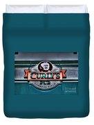 Curlys Pub - Lambeau Field Duvet Cover