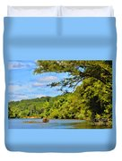 Current River Mo - Digital Paint Duvet Cover