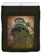 Currituck Light House Duvet Cover