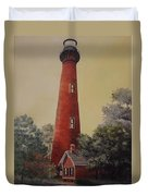 Currituck Lighthouse Duvet Cover