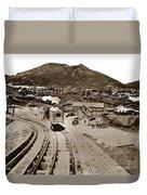 Curry Mine.virginia City Nevada.1865 Duvet Cover
