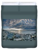Curve Off The Bay Duvet Cover