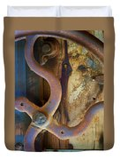Curves And Lines II Duvet Cover by Stephen Anderson