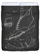 Cushion Insole For Shoes Patent Drawing From 1905 Duvet Cover