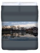 Cushwa Basin C And O Canal Duvet Cover