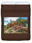 Custer State Park Ecology Duvet Cover