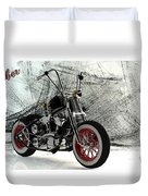 Custom Bobber Duvet Cover