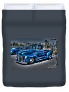 Custom Chevy Pickup Duvet Cover