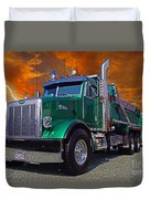 Custom Gravel Truck Catr0278-12 Duvet Cover