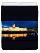 Custom House And International Financial Services Centre Duvet Cover