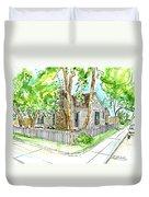 House Portrait Sample Duvet Cover